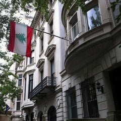 Photo taken at Consulate General Of Lebanon by Rony C. on 8/14/2012