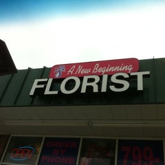 Photo taken at A New Beginning Florist by Sean M. on 2/11/2012