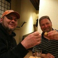 Photo taken at Sushiya by Liz E. on 4/14/2012