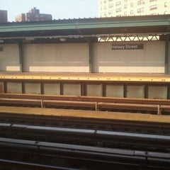 Photo taken at MTA Subway - Halsey St (J/Z) by Brent G. on 9/7/2012