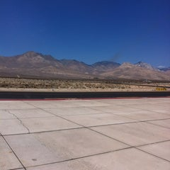 Photo taken at Inyokern Airport (IYK) by Christian E. on 7/10/2012