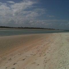 Photo taken at Matanzas Innlet by Elise G. on 4/17/2012