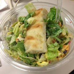 Photo taken at Just Salad by Raj N. on 3/5/2012