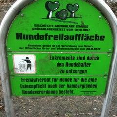 Photo taken at Hundeplatz Telemannstraße by frollein b. on 3/11/2012