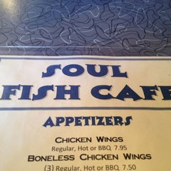 Photo taken at Soul Fish Cafe by Kennith H. on 6/24/2012