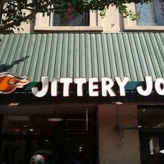 Photo taken at Jittery Joe's by The Joy Writer J. on 5/5/2012