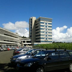 Photo taken at University of Mauritius by Ritesh R. on 3/5/2012