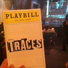 Photo taken at Traces at Union Square Theatre by Christine R. on 8/5/2012