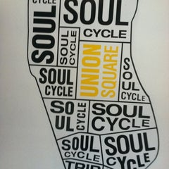 Photo taken at SoulCycle Union Square by Arielle S. on 8/30/2012