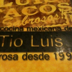 Photo taken at Tío Luis Tacos by Kid Enigma on 3/30/2012