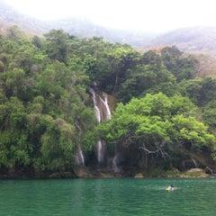 Photo taken at Cascada Micos by Vitzcaino on 4/6/2012