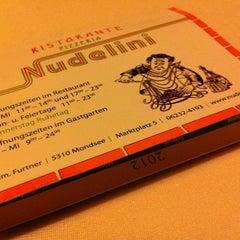 Photo taken at Pizzeria Nudelini by Julian-Paul H. on 2/26/2012