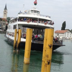 Photo taken at Romanshorn Hafen by Lukas on 9/6/2012