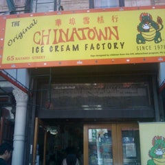 Photo taken at The Original Chinatown Ice Cream Factory 華埠雪糕行 by Jahanzeb J. on 6/16/2012