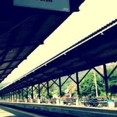 Photo taken at สถานีรถไฟ ปากช่อง by Ziina S. on 4/16/2012