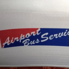 Photo taken at Airport Bus Service by Niels L. on 2/24/2012