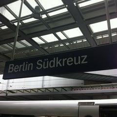 Photo taken at Bahnhof Berlin Südkreuz by Maren M. on 5/6/2012