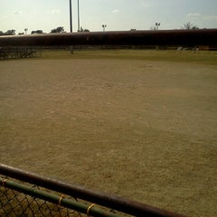 Photo taken at Belle Isle Athletic Field by Faren on 7/1/2012