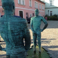 Photo taken at Franz Kafka Museum by Justin S. on 8/23/2012