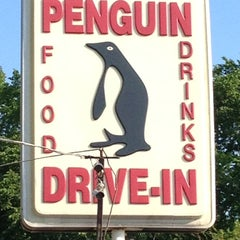 Photo taken at Penguin Drive-In by Will B. on 4/25/2012