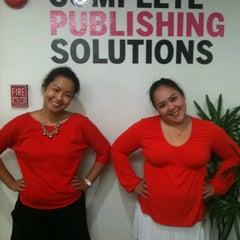 Photo taken at Ensign Media Co.,Ltd by Arada V. on 4/12/2012