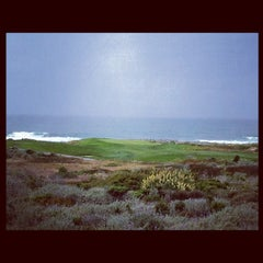 Photo taken at Spanish Bay Golf Course by Eric T. on 6/16/2012