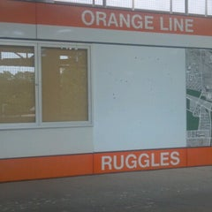 Photo taken at MBTA Ruggles Station by Matt Z. on 7/15/2012