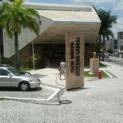 Photo taken at Teatro Municipal Severino Cabral by Bruno F. on 2/11/2012