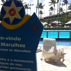 Photo taken at Marulhos Muro Alto Resort by Evelyn R. on 3/20/2012