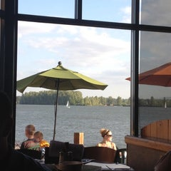 Photo taken at Beaches Restaurant & Bar by Laura O. on 5/9/2012
