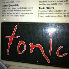 Photo taken at Tonic Times Square by Kathy V. on 7/11/2012