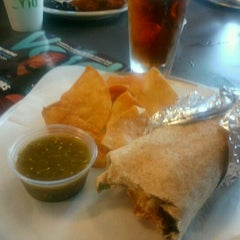 Photo taken at Hightide Burrito Co. by Downer J. on 8/11/2012