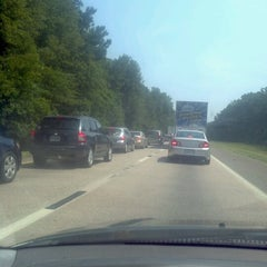 Photo taken at Interstate 95 Exit 8 by Christiaan G. on 7/6/2012