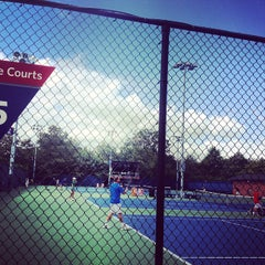 Photo taken at Practice Courts (1-5) - USTA Billie Jean King National Tennis Center by Greg B. on 8/28/2012