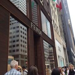 Photo taken at Fendi by Joyce J. on 6/9/2012
