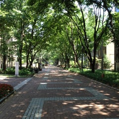 Photo taken at Locust Walk by Anna S. on 6/30/2012