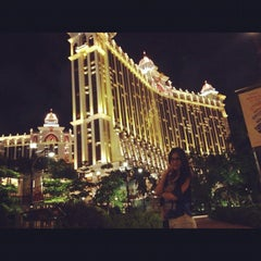 Photo taken at Galaxy Macau 澳門銀河渡假綜合城 by Jirapinya K. on 7/12/2012