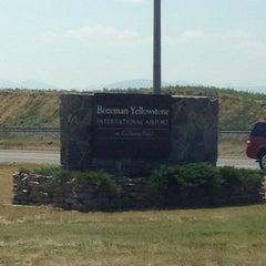 Photo taken at Bozeman Yellowstone International Airport (BZN) by Kate L. on 7/12/2012