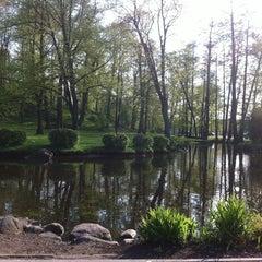 Photo taken at Arkādijas parks by Aljona P. on 5/10/2012