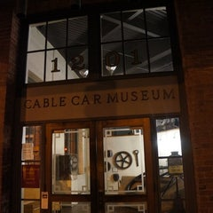Photo taken at San Francisco Cable Car Museum by locktown on 3/6/2012
