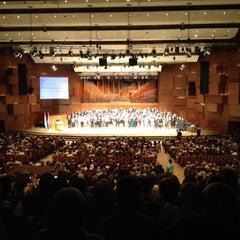 Photo taken at Koncertna dvorana Vatroslava Lisinskog by Tomislav G. on 6/12/2012