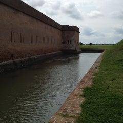 Photo taken at Fort Pulaski by Susan E. on 3/31/2012