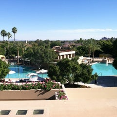 Photo taken at The Phoenician by Jay S. on 4/24/2012
