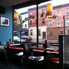 Photo taken at Hope & Anchor Diner by Anita W. on 4/22/2012
