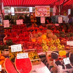 Photo taken at Mercato di via Fauche by Giorgia on 8/11/2012