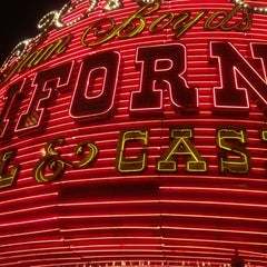 Photo taken at The California Hotel & Casino by Matt J. on 2/17/2012