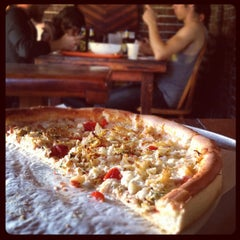 Photo taken at Wildflour Pizza by Leo J. on 6/19/2012