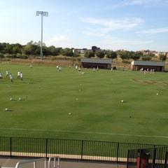 Photo taken at John Crain Field at the OU Soccer Complex by Eric A. on 8/20/2012