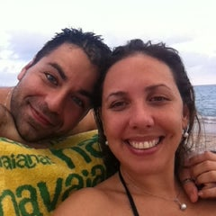 Photo taken at Spiaggia delle Fornaci by Amanda A. on 8/22/2012