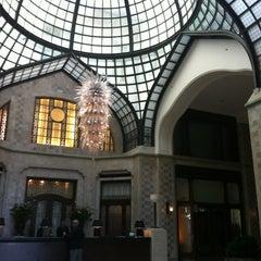 Photo taken at Four Seasons Hotel Gresham Palace Budapest by Kristie K. on 8/20/2012
